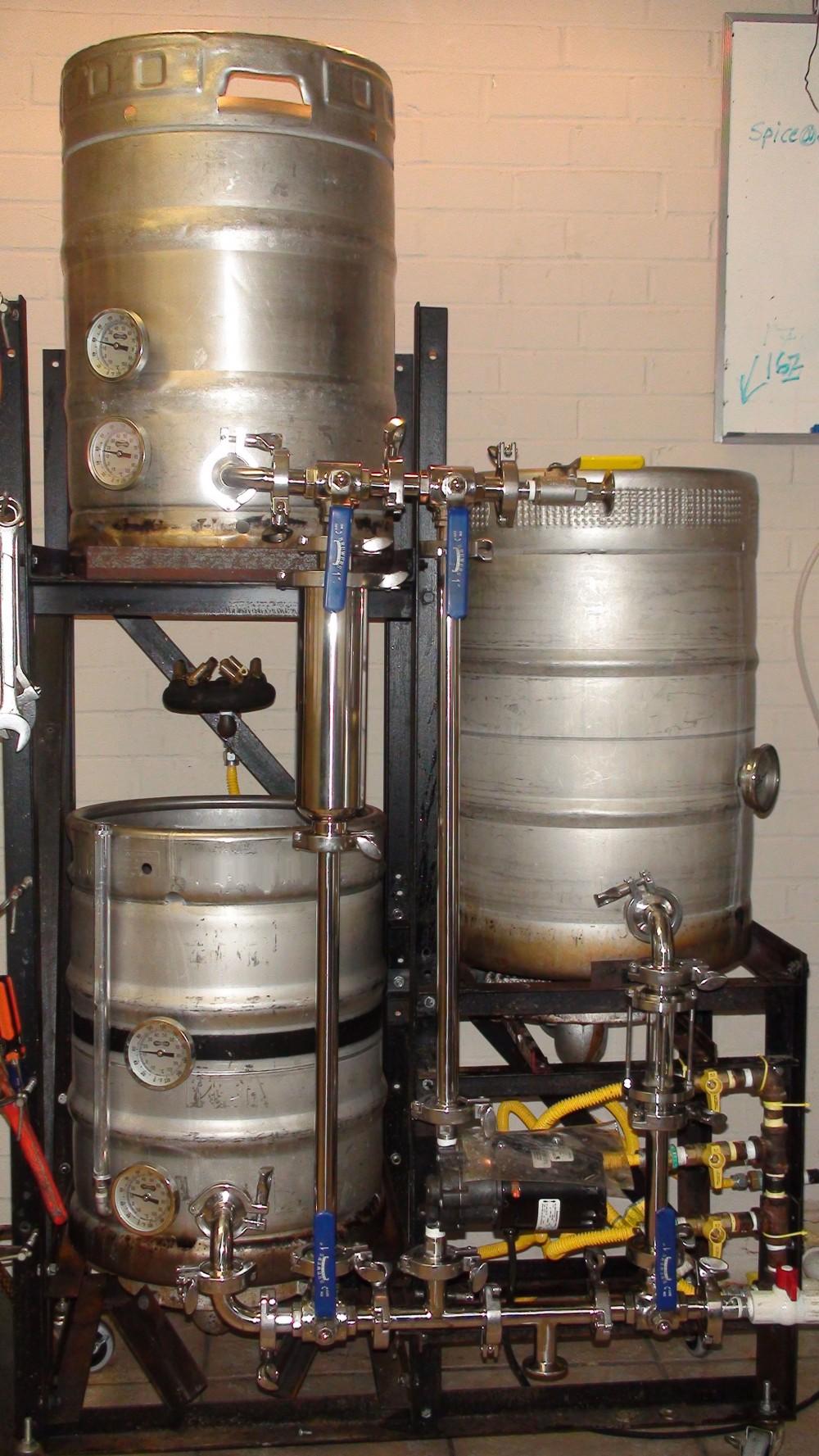 Halfbarrelbrewer Brewing Beer Exclusively On A Half