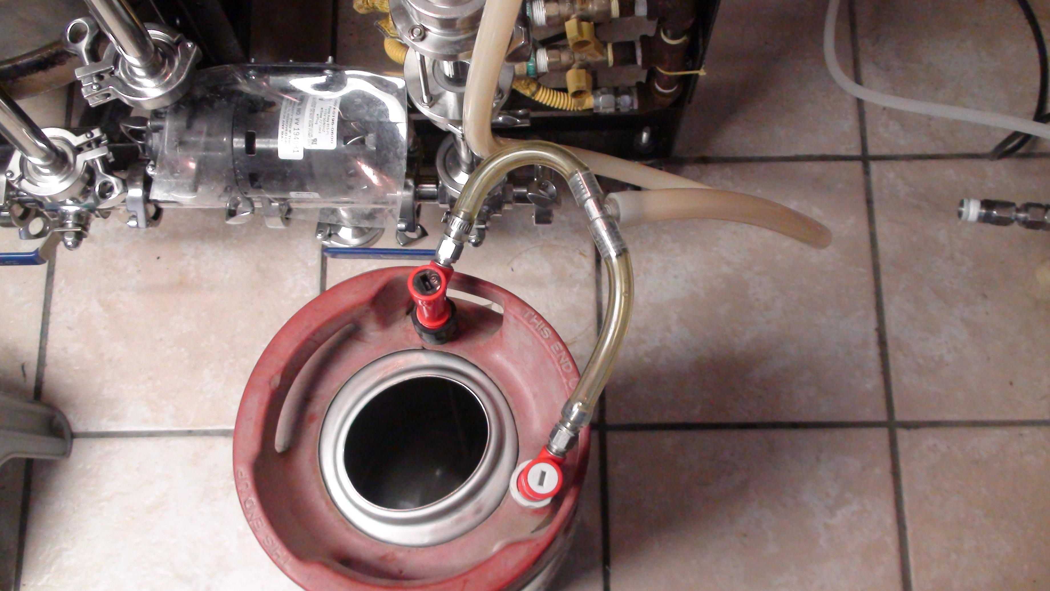 Keg cleaning halfbarrelbrewer step 3 turn pump on to start recirculation add 4 oz pbw to mash tun publicscrutiny Images