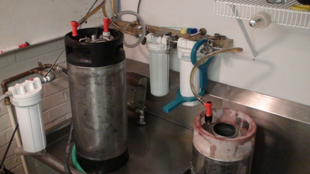 Beer filtering
